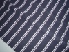 yarn dyed feeder stripe pique knitted fabric