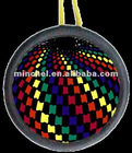 colorful flashing badge