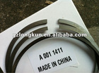 Engine parts , truck piston rings A 001 1411