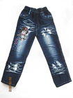 2012 Fashion New Style girls Jeans children pants kids set