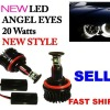 hot sell 20w H8 led angel eyes
