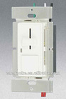 3-way with Push Switch&LED Slider Dimmer