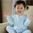 Custom organic cotton baby underwear sets,winter clothes sleepwear for children
