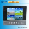Fashionable splitscreen 8 inch lcd testing monitor