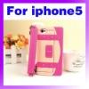 Womens handbag Style Silicone phone Case O-877