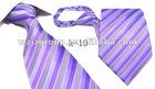 men's 100% polyester ties
