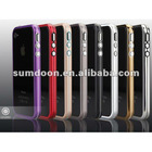 Star style Excellently Thin Metallic double color GGMM iPhone 4 4S phone protection frame