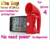 Mini Amplifier Speaker for i Phone 4 4G No External Power + Environmental Protecation