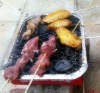 instant one way disposable bbq grill