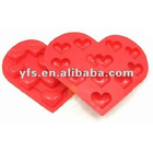 heart shape silicone ice tray