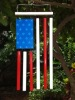 Flag of USA wind chime