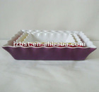 rectangl colorful ceramic oven safe baking pan dishes