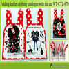 fashion adult catalogs printing with die cut flyers WT-CTL-070