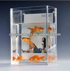 square acrylic aquarium tank customized in various sizes