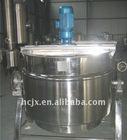 stainless steel sanitary steam jacket kettle
