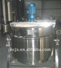 stainless steel sanitary steam jacket kettle