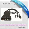 Mini DisplayPort/svideo converter+ composite-LKV386