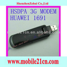 HuaWei 1691 7.2Mbps HSUPA EDGE GPRS 3G USB 2.0 Wireless Modem Tmobile