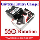 Hot Selling Battery Charger for Mobile Phone 360 Degree Rotation (US/UK/EU/AU Plug)