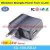 9v 2a USB Power adapter/charger for game player/camera with FCC,UL,GS,ROHs