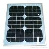 15W monocrystalline silicon solar panel