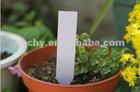 Plastic garden plant labels