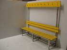 durable hpl phenolic compact benches for public park