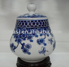 chinese blue and white porcelain ginger jar WRYCL55
