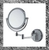 Bathroom magnifying mirror with LED light 9019-3