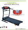 T2000EC 1.5hp treadmill with bule LCD and speaker