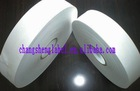 White adhesive for printing label tape