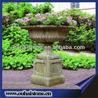 Decorative granite flowerpot /flower pots and urns / granite planters stone