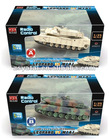radio control (R/C )model tank, 1/35 RC Battle Game Tanks:Leopard II VS M1A1
