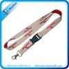 polyester cheap custom lanyards with your own logo