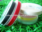 """3/8""""Polyester solid color satin gift ribbon"""