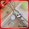 customized fashion love metal key chain