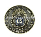 Customized design and size metal replica coin