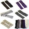 Lady knitted fingerless gloves