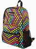 colorful foldable rucksack bags for girls