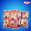 Round Halal Fruit Filled White Marshmallow