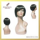 100% Brazilian hair tangle free and east fashion glueless wigs