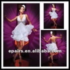 CD91 Stylish Empire Waist Halter Organza Cocktail Dress