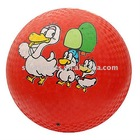 "rubber waterpolo / 8.5"" playground ball/"
