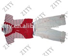 Striped spring style children's garment