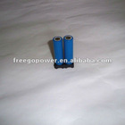 9v battery holder for 18650 cell