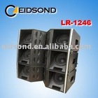 pro audio system, line array