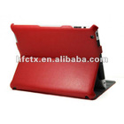 New 3 folded stand PU leather for ipad 3 case