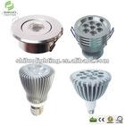 High lumen recessed spotlight products