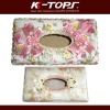 Colorful car tissue box for 2012 new season