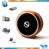 For iPhone&iPad: 2012 Hotest Aluminium Bluetooth Mini Vibration Speaker